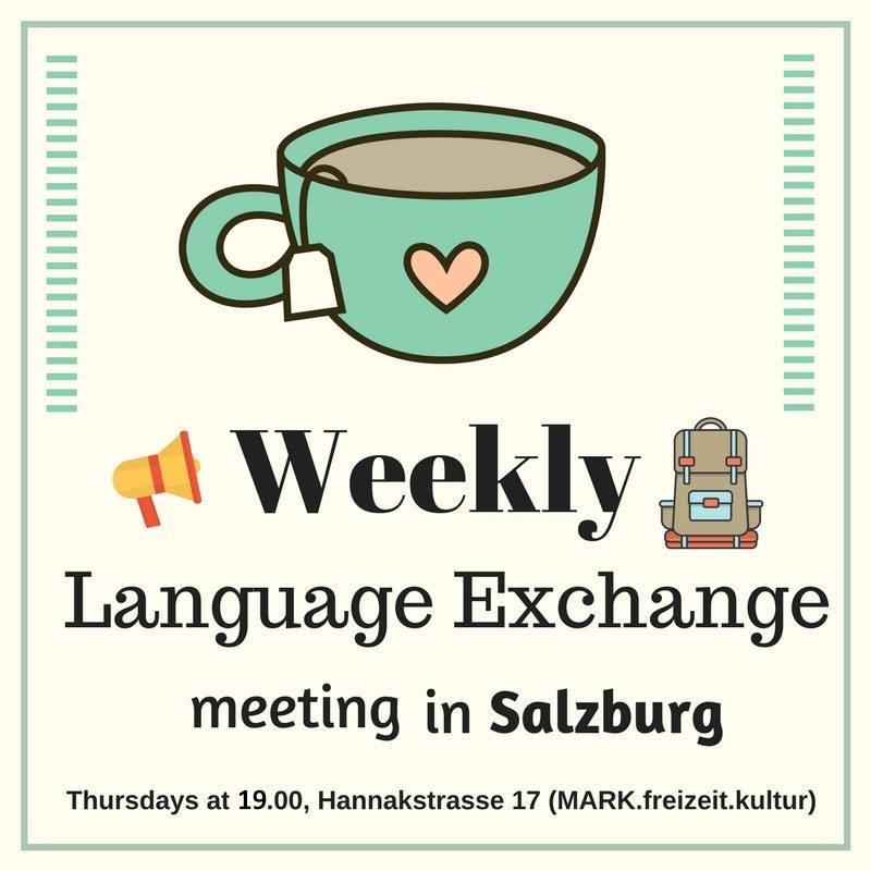 Weekly Salzburg Language Exchange