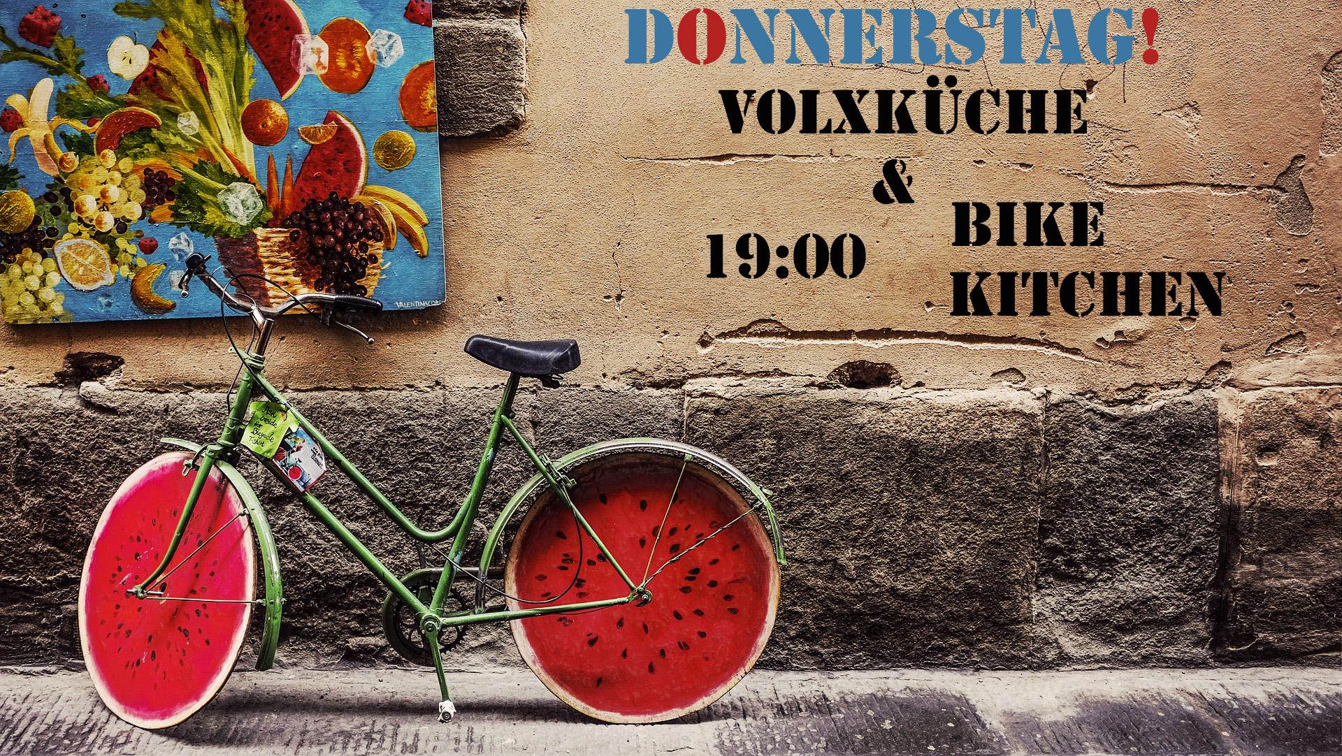 Volxkuche Bike Kitchen Jeden Donnerstag Im Mark Mark Salzburg